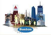 Bài tham dự #9 về Graphic Design cho cuộc thi Illustration Design for Generic Runners in Boston