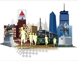 #3 for Illustration Design for Generic Runners in Boston by aneesgrace