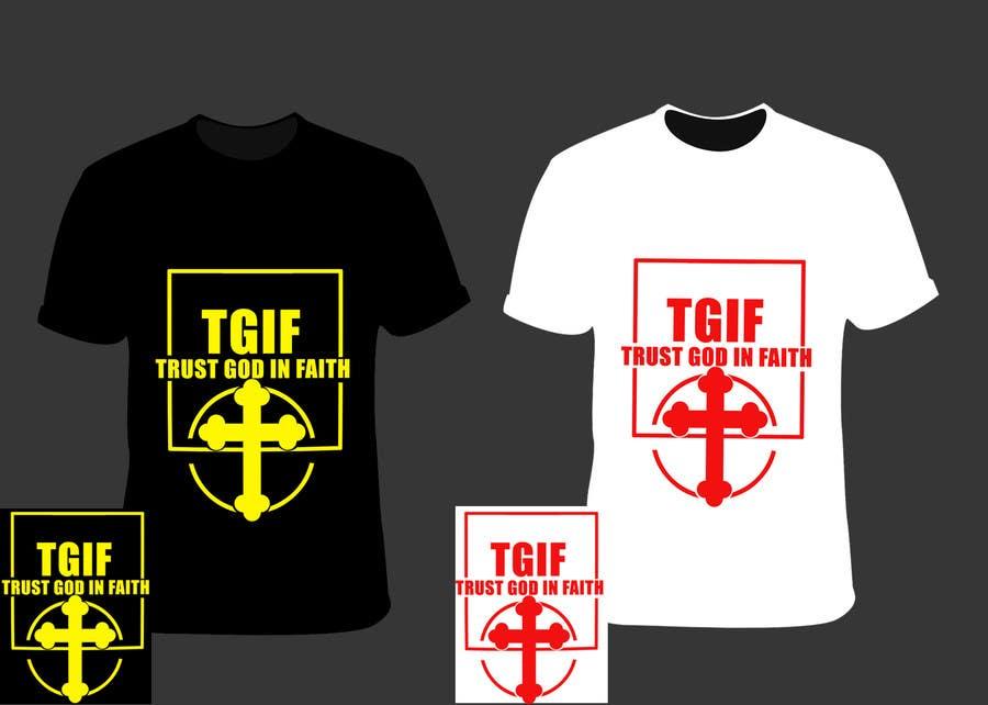 Penyertaan Peraduan #                                        17                                      untuk                                         Design a T-Shirt for faith based company