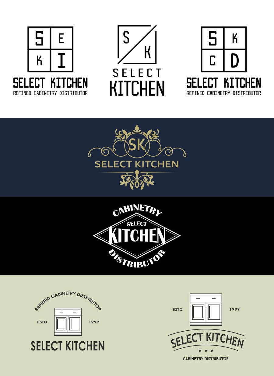 Entry 58 By Georgeshap For Logo Design For Kitchen Cabinet Company