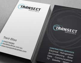 #64 para Business Card Design for Transect Industries por midget