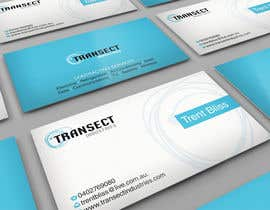 #62 para Business Card Design for Transect Industries por midget