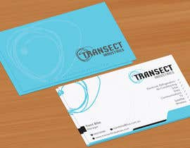 #9 untuk Business Card Design for Transect Industries oleh jobee