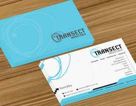 #63 untuk Business Card Design for Transect Industries oleh jobee