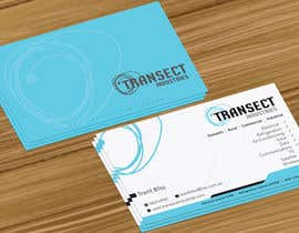 #51 untuk Business Card Design for Transect Industries oleh jobee