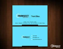 #29 para Business Card Design for Transect Industries por vigneshsmart