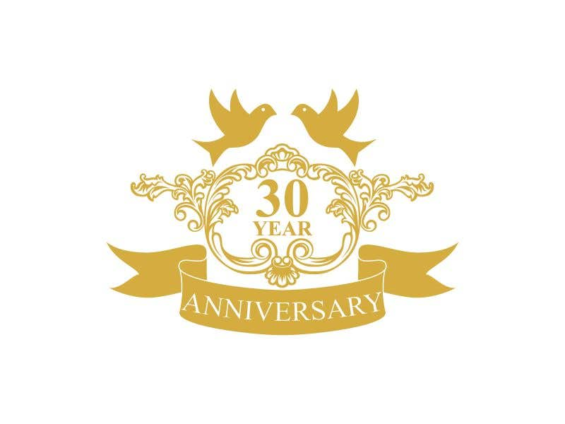 Entry 44 By Salma70 For 30th Anniversary Logo And Tagline Freelancer