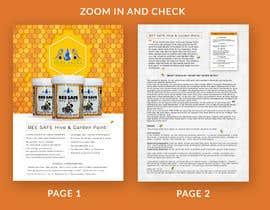 nº 12 pour Design a sales sheet par tosoubhik