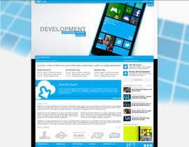 Nro 8 kilpailuun Website Design for OutCode käyttäjältä Enka
