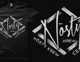 #14 cho T-shirt Design for Nòsty Krew bởi crayonscrayola