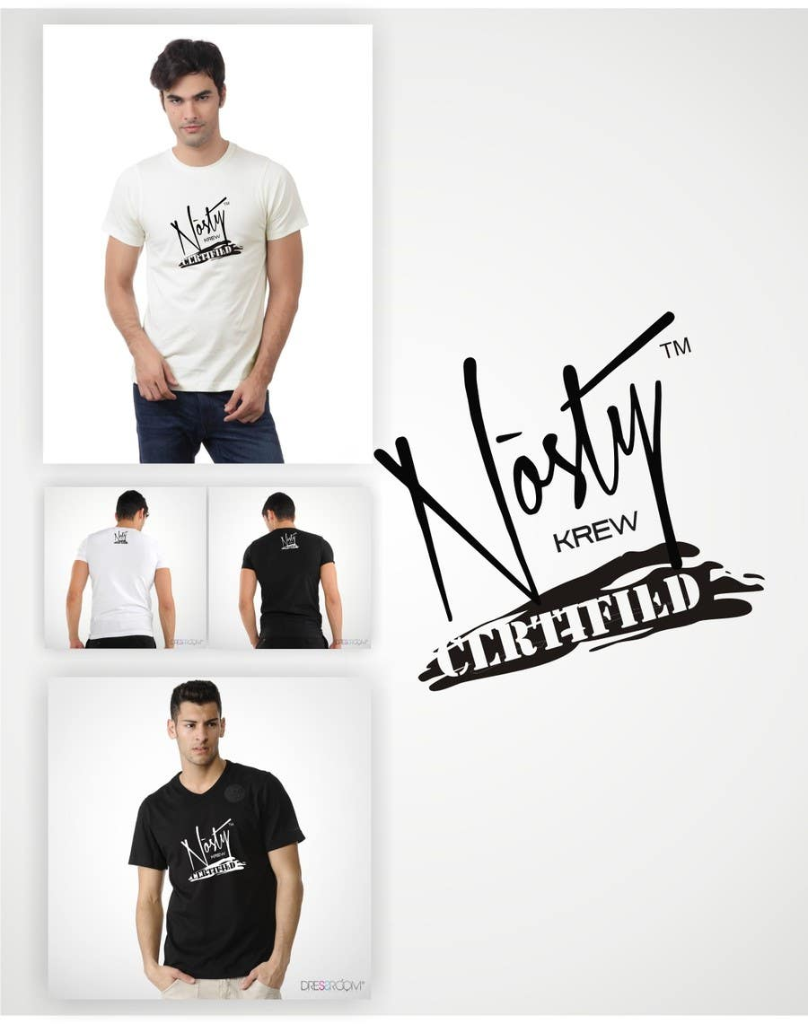 Contest Entry #73 for T-shirt Design for Nòsty Krew