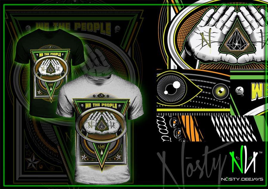 Bài tham dự cuộc thi #38 cho T-shirt Design for Nòsty Krew