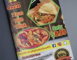 #45 para Make a Restaurant Poster COMBO flyer por mahafuzurmp