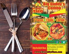 #47 para Make a Restaurant Poster COMBO flyer por mahafuzurmp