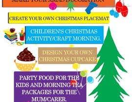 kvd05 tarafından Design a Flyer for Christmas kids party için no 11