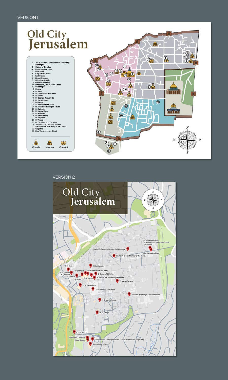 Entry #7 by renzberboso for Book map graphic design   Freelancer on