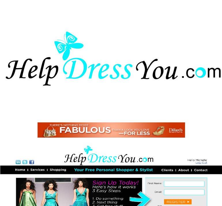 Bài tham dự cuộc thi #104 cho Logo Design for HelpDressYou.com