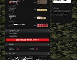 #10 untuk Design a Webpage Mockup for Two Webpage Templates oleh SatansRealCat