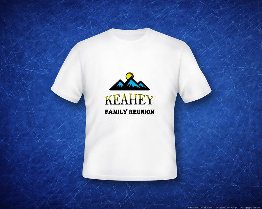 293a85397 Entry #33 by nadirqureshi for Design a T-Shirt for a family reunion ...