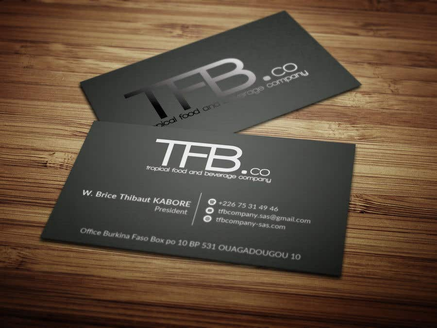 Contest Entry 25 For Conception De Carte Visite Business Card