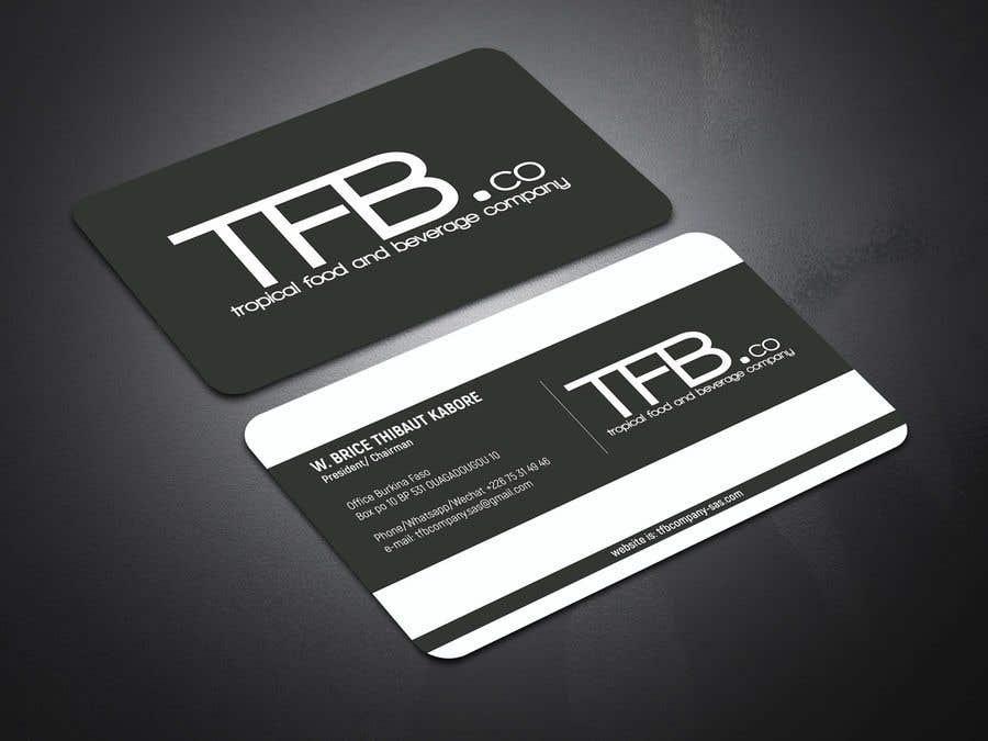 Contest Entry 236 For Conception De Carte Visite Business Card