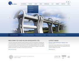 #26 for Wordpress Theme Design for Cass Allen Associates Ltd af purple294