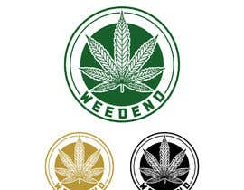 #62 for Logo design with cannabis af zouhairgfx