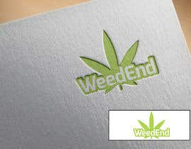 #169 for Logo design with cannabis af jewelbd89
