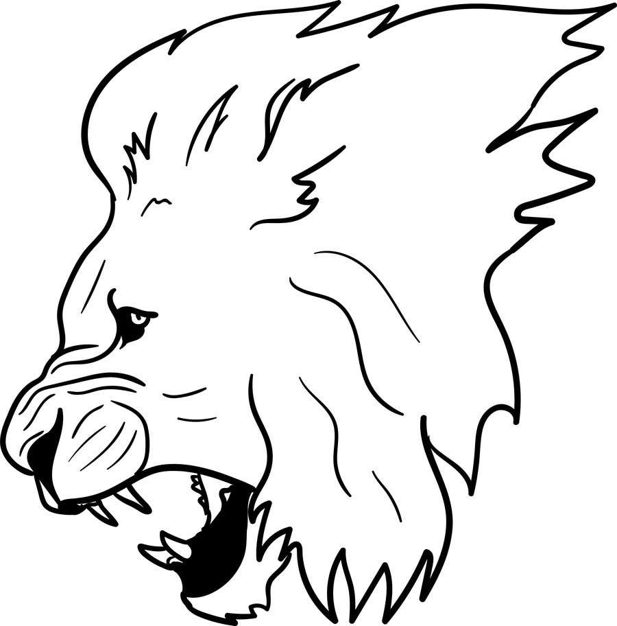 Entry 71 By Shinanomiyazawa For Lion Drawing Outline Freelancer Here presented 33+ lion outline drawing images for free to download, print or share. lion drawing outline freelancer