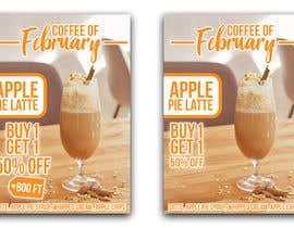 Nro 11 kilpailuun Design me a poster representing coffee of the month at size of A/1 käyttäjältä ken128