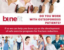 #36 pentru Poster Design for Osteoporosis Canada- Bone Fit Program de către mfbdeip