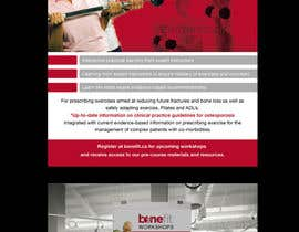 nº 4 pour Poster Design for Osteoporosis Canada- Bone Fit Program par earlybirdvw
