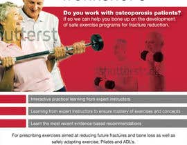 #25 pentru Poster Design for Osteoporosis Canada- Bone Fit Program de către earlybirdvw
