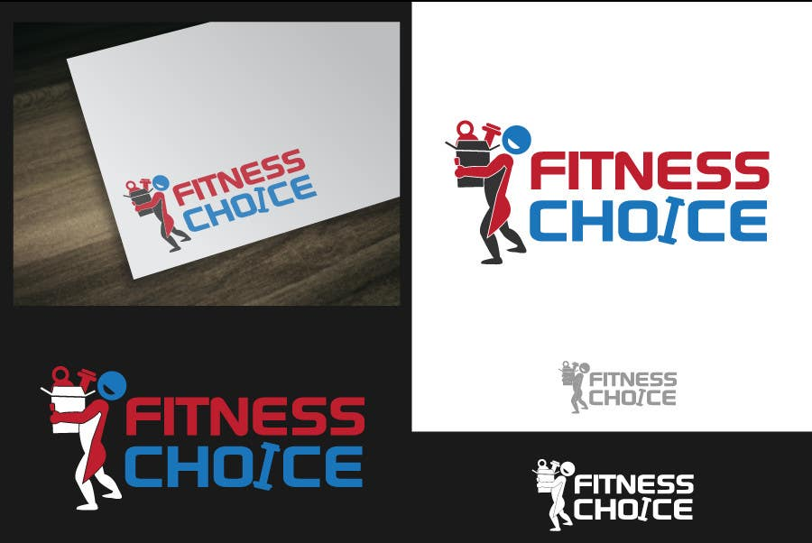 Proposition n°                                        215                                      du concours                                         Logo Design for Fitness Choice