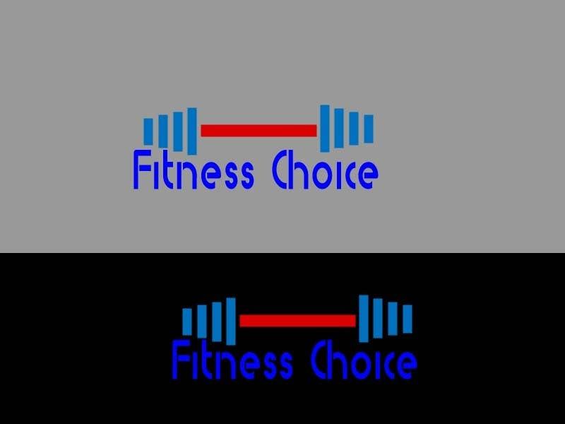 Inscrição nº                                         115                                      do Concurso para                                         Logo Design for Fitness Choice