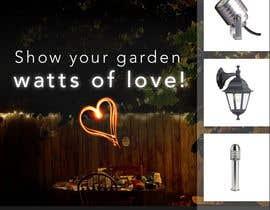 #14 para Design an Email Banner - Garden Lighting de cristic827