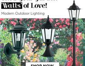 #6 para Design an Email Banner - Garden Lighting de Liciab