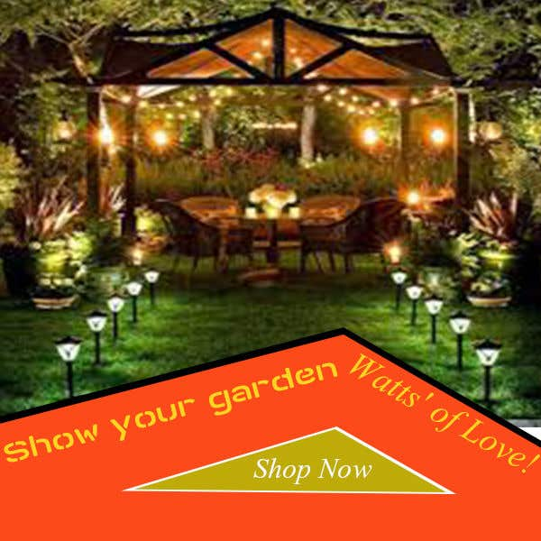 Contest Entry #52 For Design An Email Banner   Garden Lighting