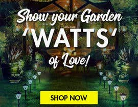#48 para Design an Email Banner - Garden Lighting de Ashleyperez