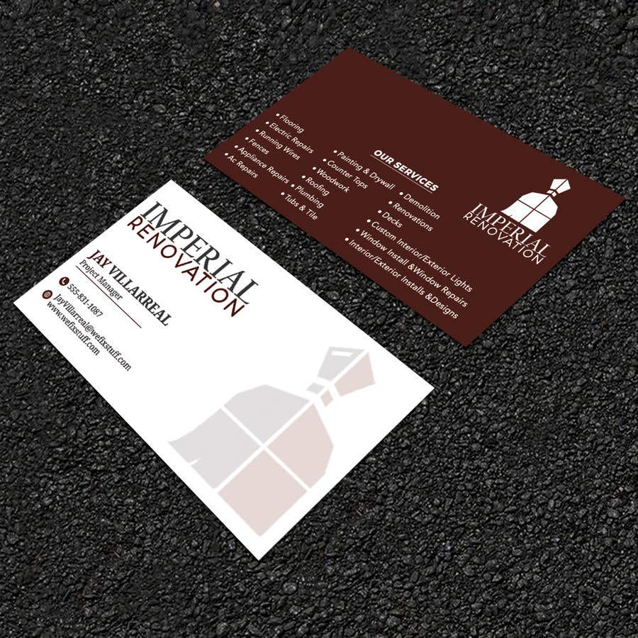 Entry 23 By Rockonmamun For Design Some Double Sided Business Cards