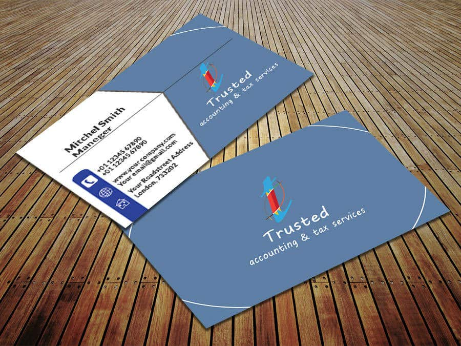 Entry 25 by saiful442384 for design a logo and business card for business card colourmoves