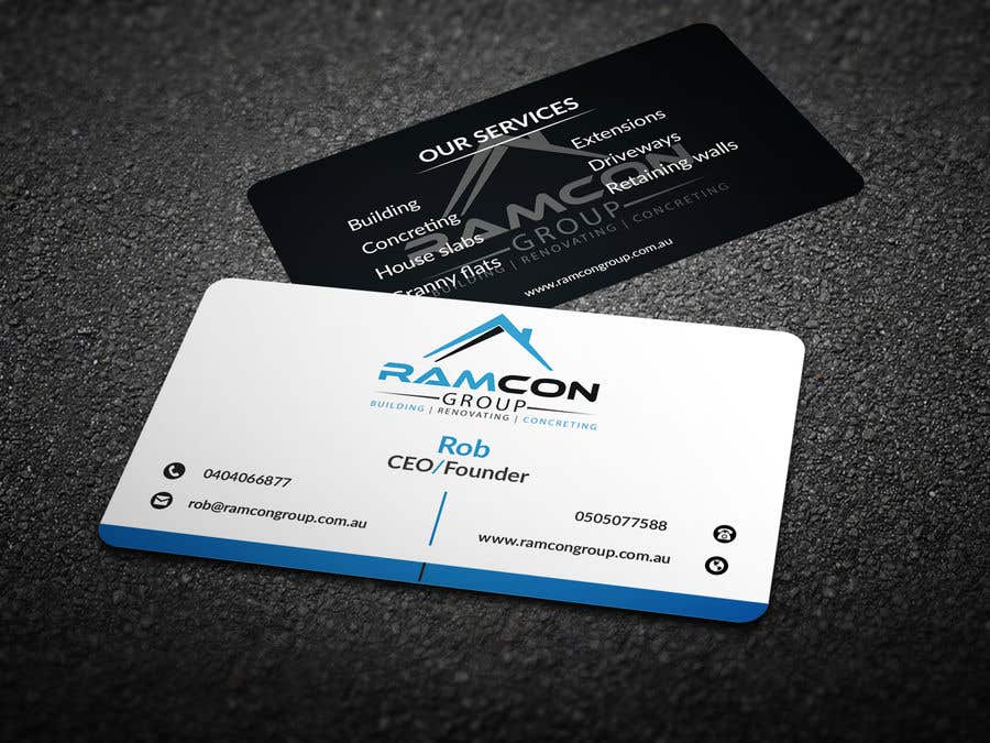 Entry #79 by chandrarahuldas for Design some Business Cards | Freelancer