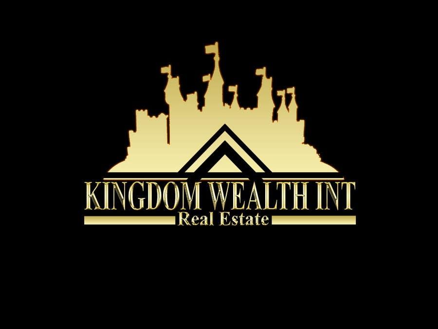 Bài tham dự cuộc thi #                                        26                                      cho                                         Design a Logo exuding KINGDOM WEALTH Int Realty