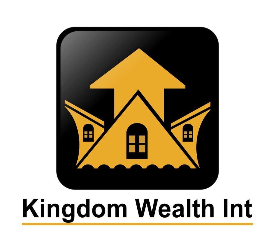 Bài tham dự cuộc thi #                                        6                                      cho                                         Design a Logo exuding KINGDOM WEALTH Int Realty