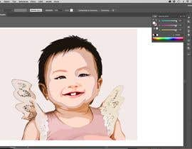 #2 for Convert my daughter to cartoon vector art by OicramDesigner