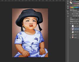 #29 for Convert my daughter to cartoon vector art by OicramDesigner