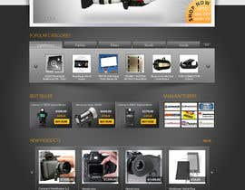datagrabbers tarafından New Graphic Design for photo equipment web shop  www.thebouncingbox.com için no 6