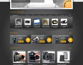 nº 9 pour New Graphic Design for photo equipment web shop  www.thebouncingbox.com par datagrabbers