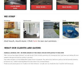 #33 untuk Design a Website Mockup for Tile Removal Company oleh chillipatchweb