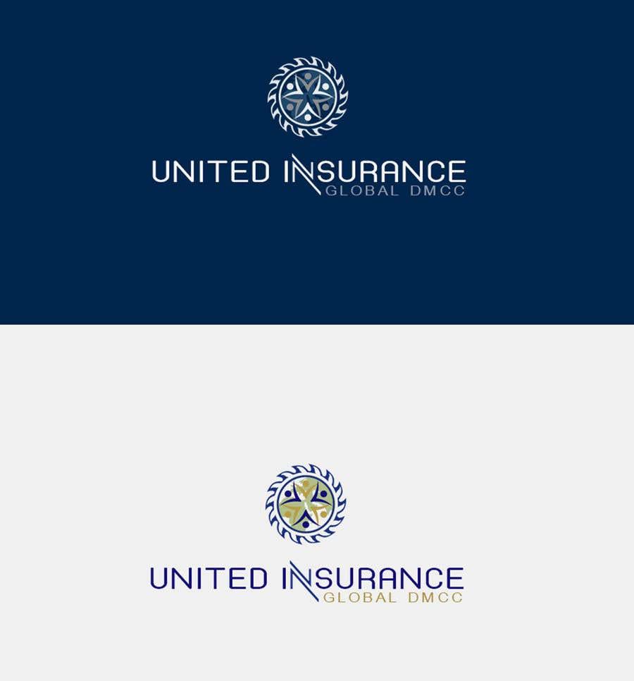 Contest Entry #8 for احتاج اعمل شعار مع لوجو باسم المتحدة للتأمين جلوبل  المحدودة